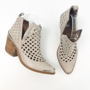 Jeffery Campbell Cromwell C2 Perforated Booties, 7